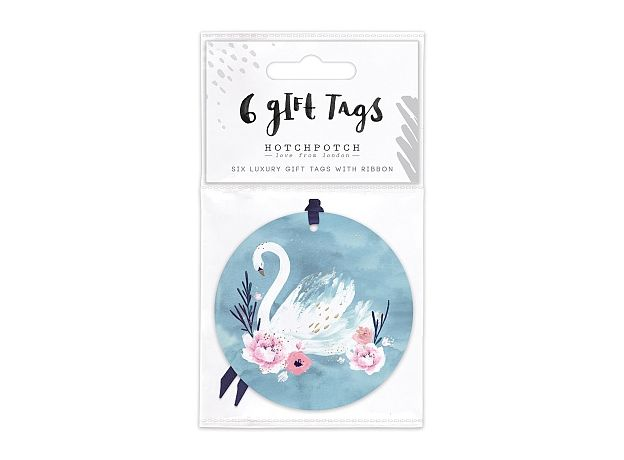 Hotchpotch Swan Lake Spring Swan Gift Tags (6)