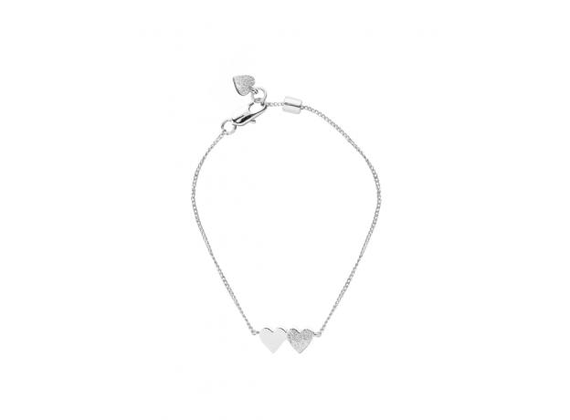 Tutti & Co Silver Connect Bracelet