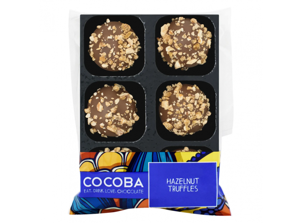Cocoba Hazelnut Chocolate Truffles