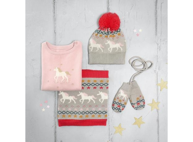 Sophie Allport Knitted Kids Jumper - Unicorn