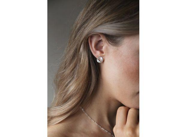 Tutti & Co Sunrise Earrings Silver