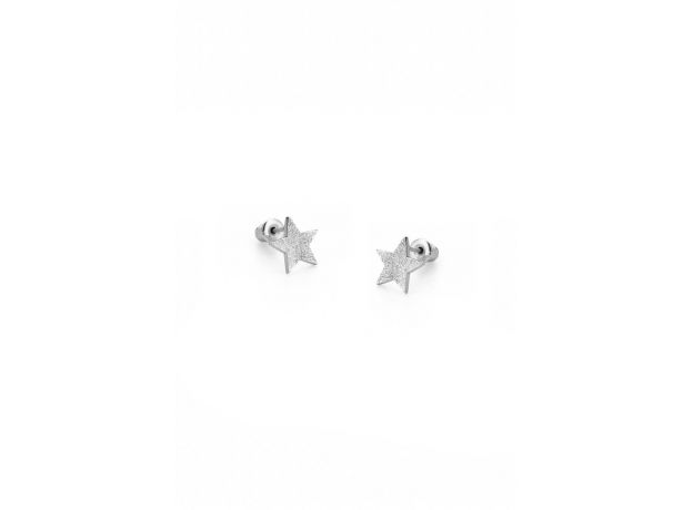 Tutti & Co Alpha Silver Earrings