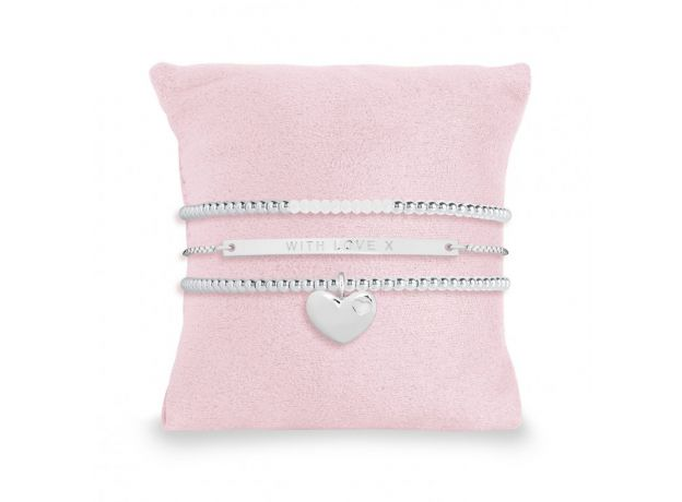 Joma Bridal With Love X Stacking Bracelets Gift Box