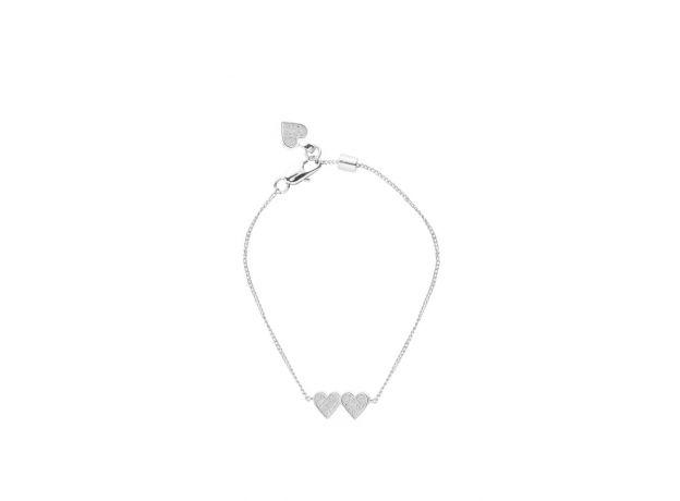 Tutti & Co Heartbeat Bracelet Silver
