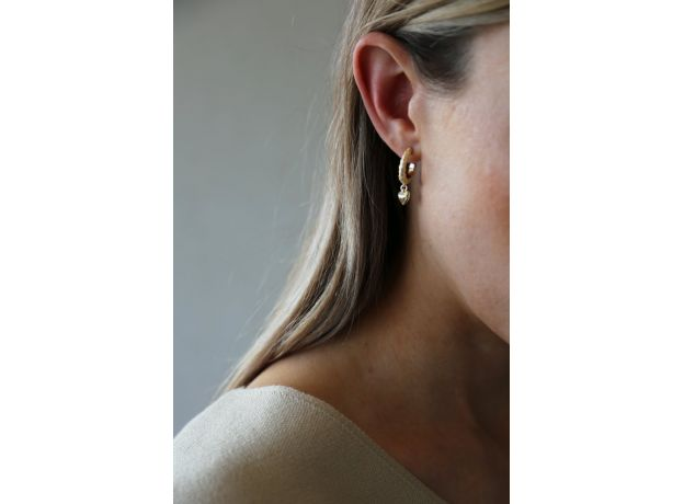 Tutti & Co Courage Earrings Gold
