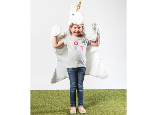 Wild & Soft White Unicorn Animal Disguise