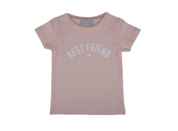 "Bob & Blossom Pink ""Best Friend"" T-Shirt"